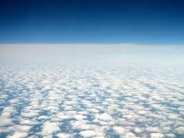 sky above clouds iv