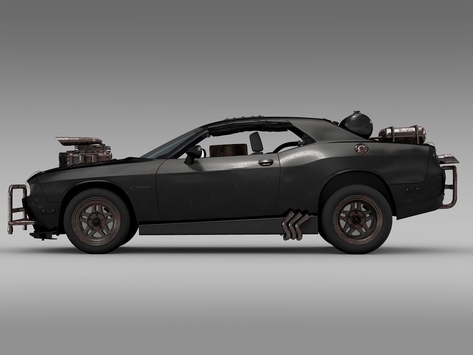 Mad Max Fight Interceptor Dodge Chal correctlynamed