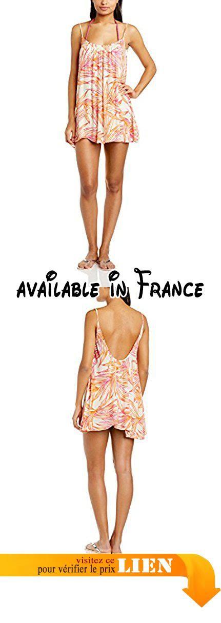 B00RD8TH06 : Roxy Sweet Vida - Robe de plage maternité - Femme - Orange (Hearts Of Palms Sea Spray) - X-Large (Taille fabricant: X-Large). 100% viscose #Apparel #SPORTING_GOODS