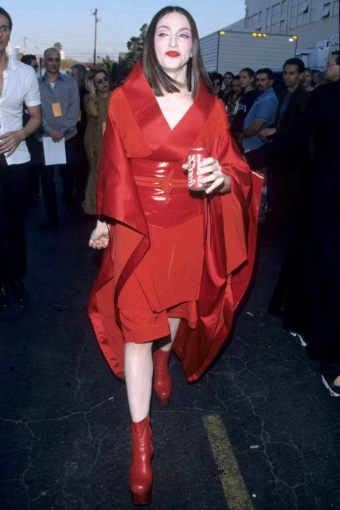 The 52 Most Outrageous Grammys Outfits Madonna Grammy