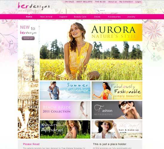 Female Fashion Templates Free Templates Download Fashion Design Template Fashion Blog Template Fashion Templates