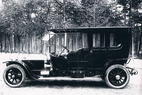 1912 St. Louis Limousine by Kellner (chassis 2010) for Augusto Coelho