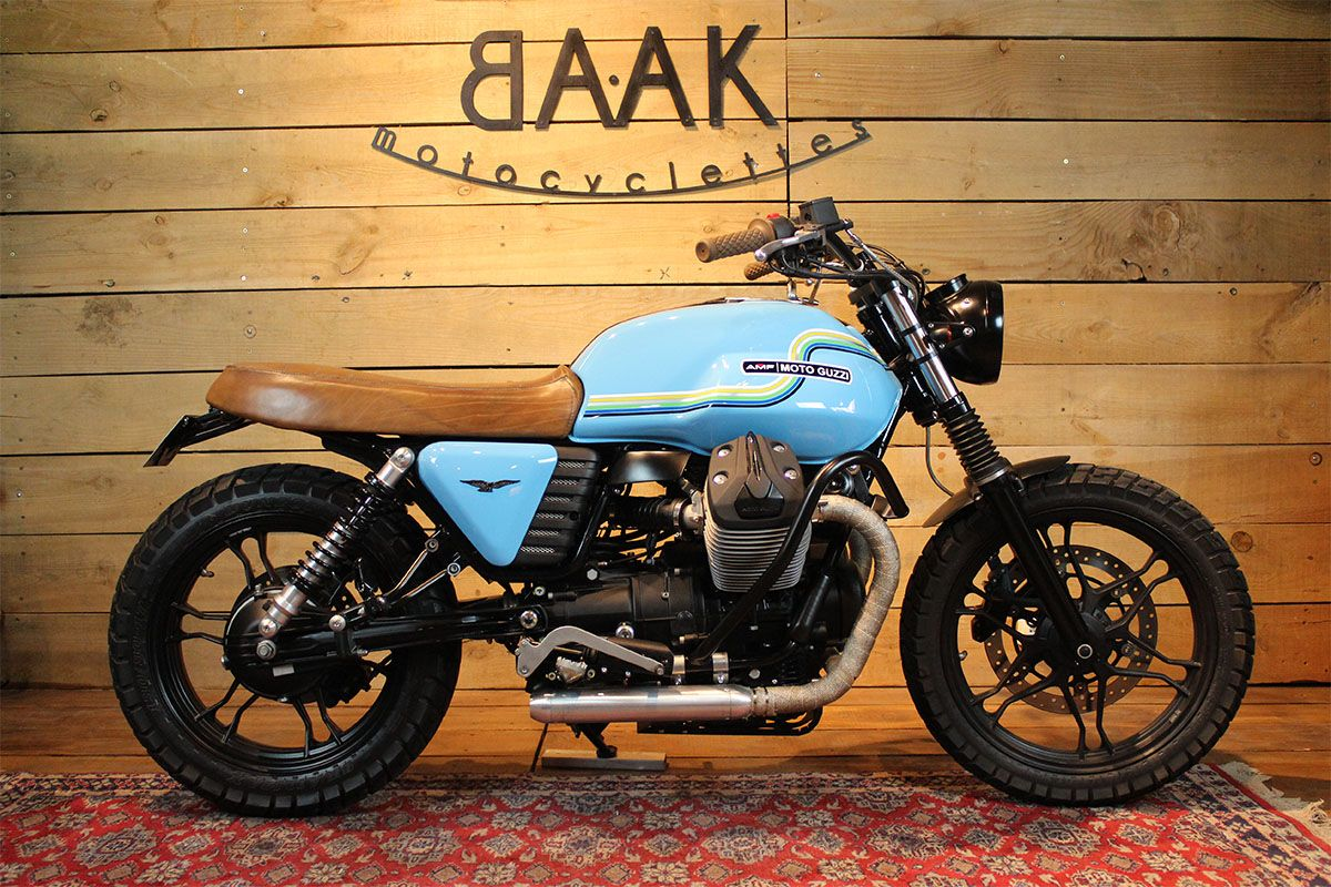 selle moto guzzi v7 motorbike pinterest moto guzzi scrambler and ducati scrambler. Black Bedroom Furniture Sets. Home Design Ideas