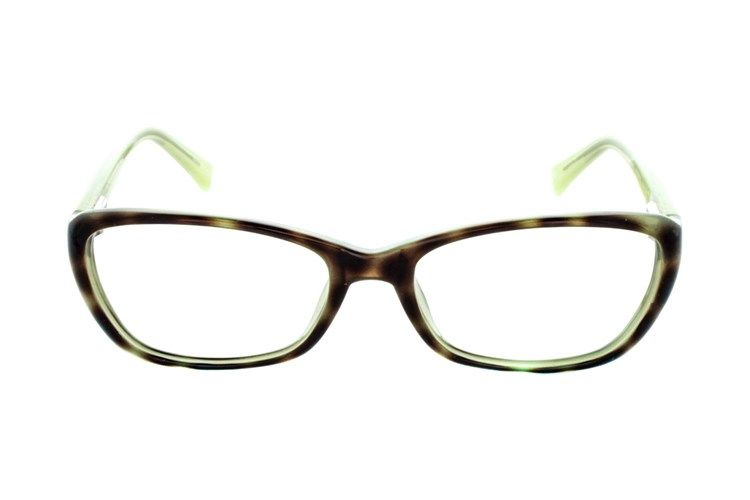 3d72ccca2 These mint Lunettos Amanda modified cat-eye frames with a tortoiseshell  pattern are the perfect