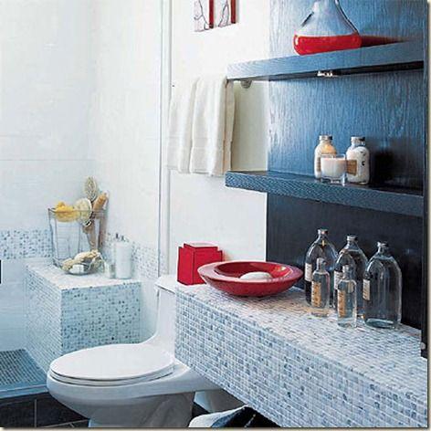 pequeños4 Baños pequeños Pinterest Decoracion de baños - modelos de baos