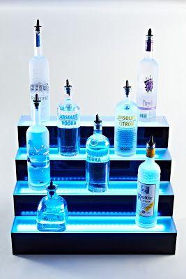 Liquor Shelves Bottle Display Ideas