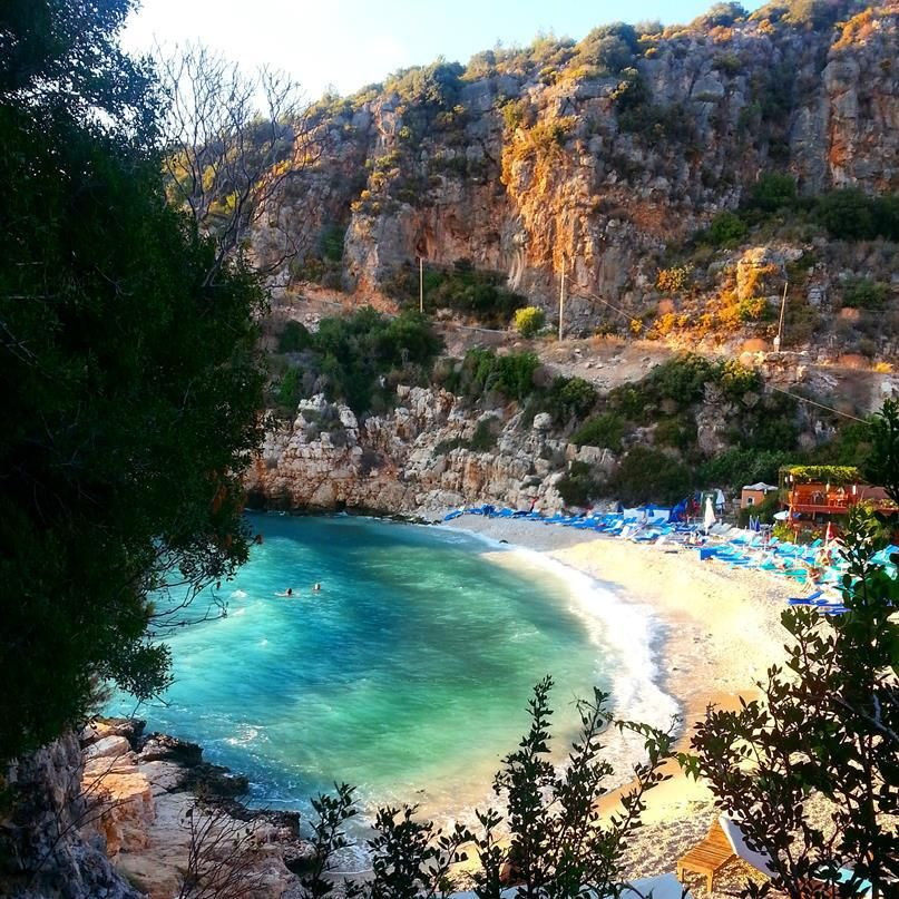 Kaş Büyükçakıl Beach - Antalya