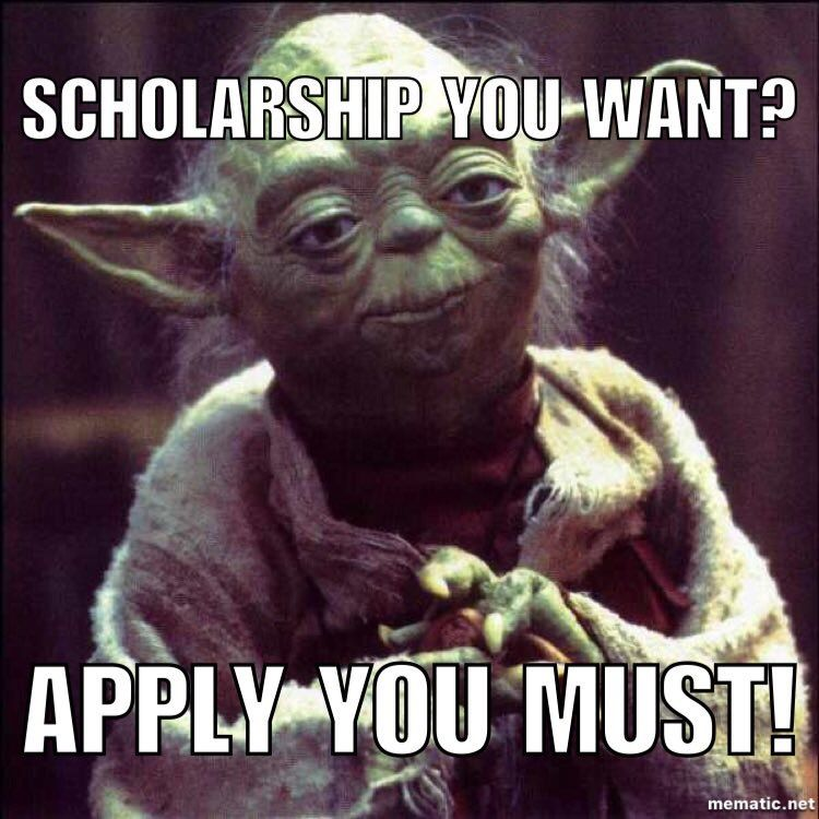 If You Dont Apply You Certainly Wont Win Scholarships