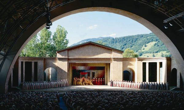 Go to the Oberammergau Passion Play in Bavaria; first performed in 1634 to fulfill a promise to God after the town was spared from the bubonic plague. It is performed every ten years and was last performed in 2010.