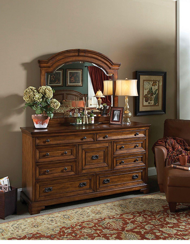 Centennial Master Dresser in Chestnut Brown by Aspen Home