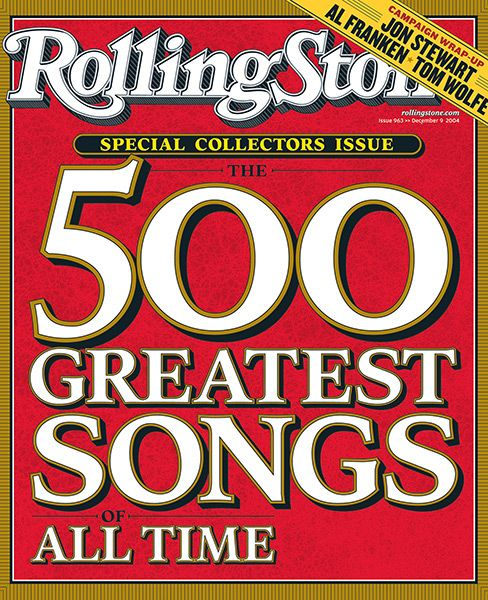 Rolling Stone S 500 Greatest Songs Of All Time Wikipedia