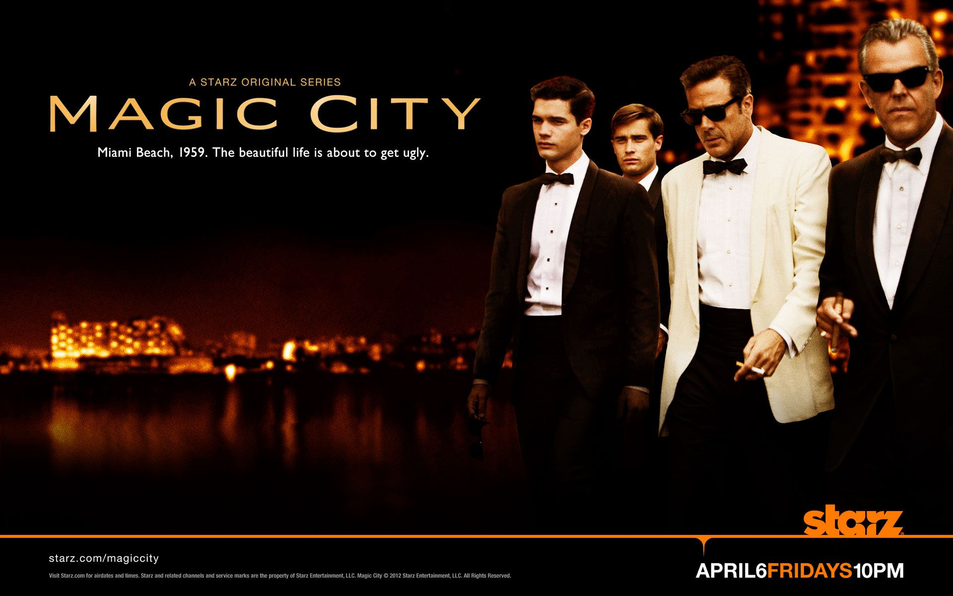 Magic City 2012 Keyart Wallpaper
