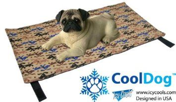 Amazon Com Cooldog Reusable Ice Mat For Keeping Dogs Cool In