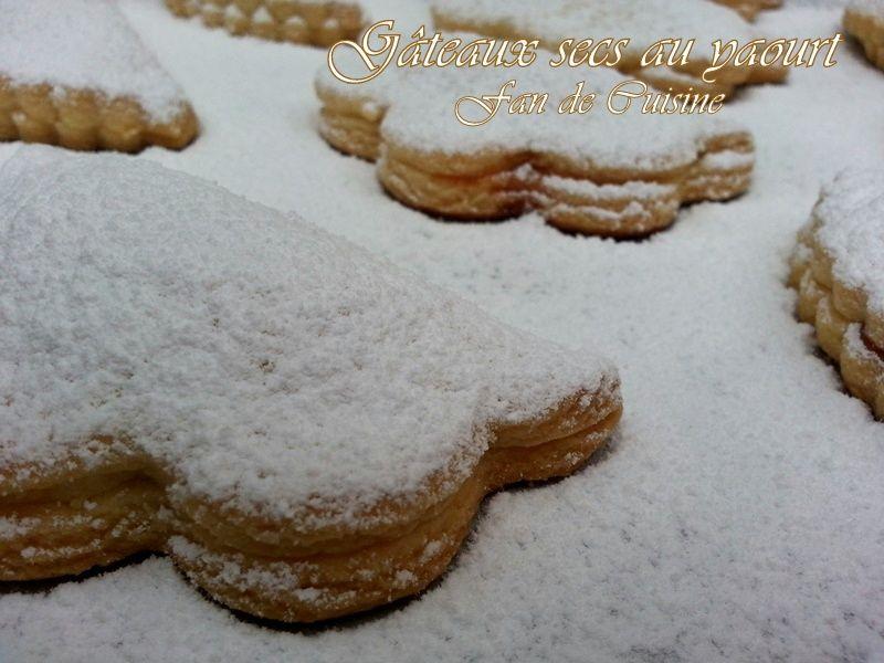 Gâteaux secs au yaourt