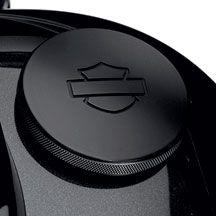 Diamond Black Collection Fuel Cap   Harley-Davidson USA