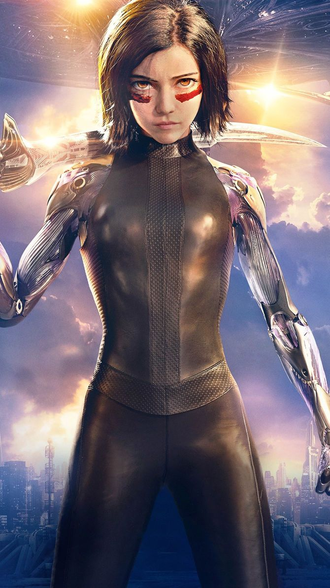 Photo of Alita: Battle Angel (2019) Phone Wallpaper | Moviemania
