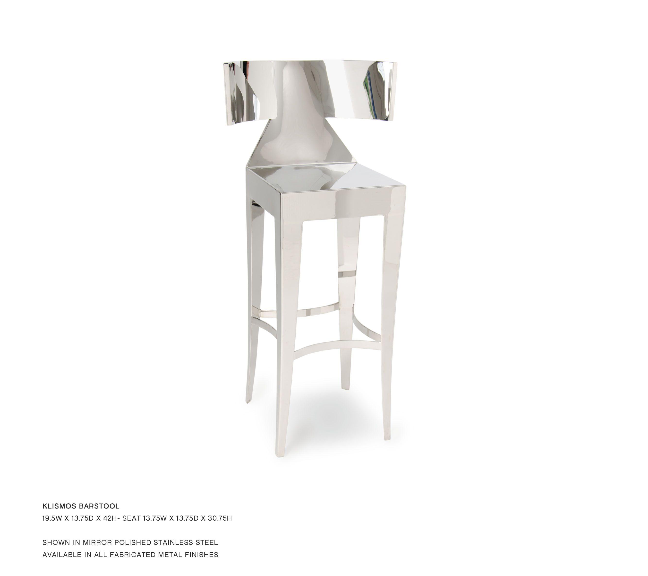Super John Lyle Design Klismos Barstool Bar Stools Funky Inzonedesignstudio Interior Chair Design Inzonedesignstudiocom