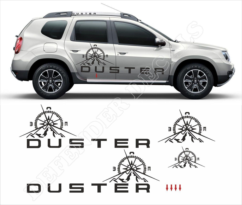 Duster Decal Car Sticker Design Sticker Design Car Stickers [ 1276 x 1500 Pixel ]