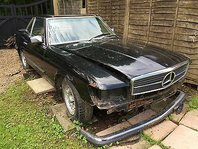 EBay Mercedes SL380 R107 Restoration Brave Barn Find Spares Or