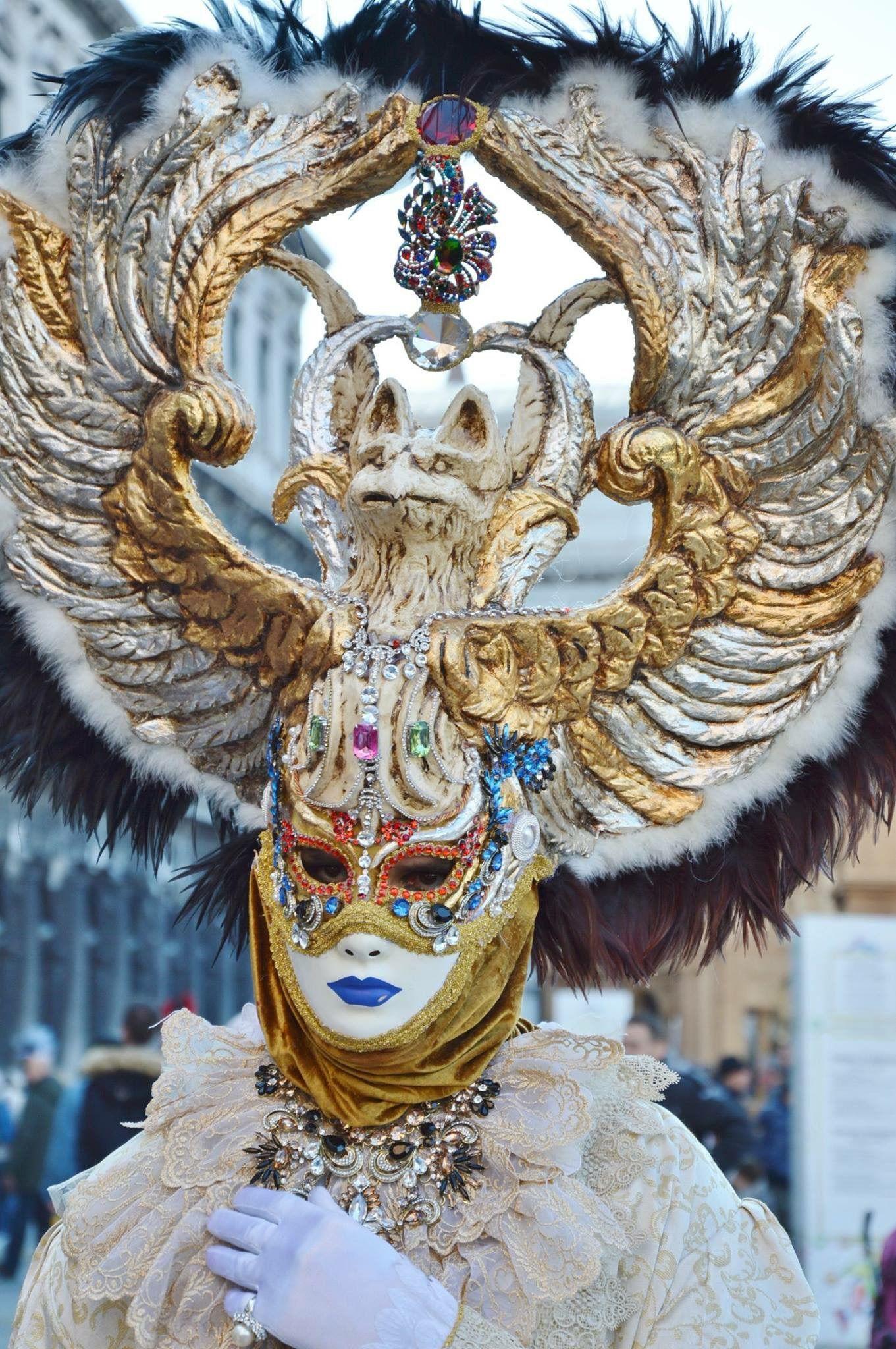 Venice Carnival Headdress