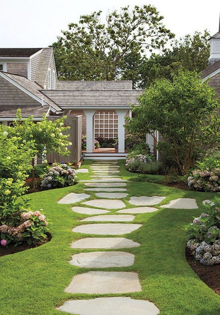 91 Beauty Low Maintenance Front Yard Landscaping Ideas With