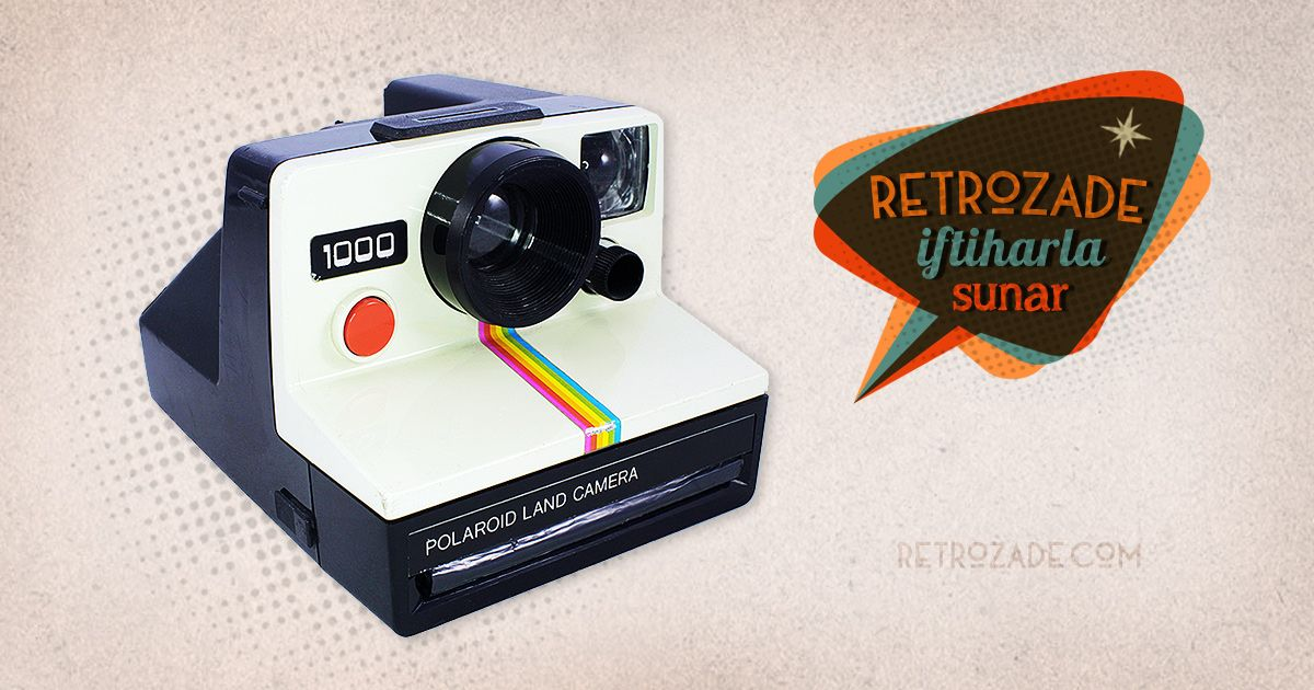 Polaroid 1000 Sipsak Fotograf Makinesi Polaroid Retro Ve Elektronik