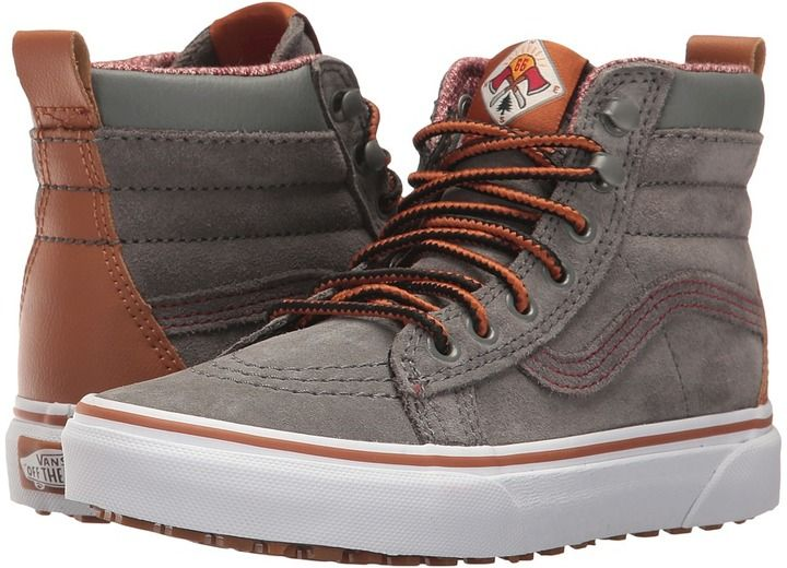 8efbc5f6320 Vans Kids SK8-Hi MTE Castor Gray) Boys Shoes