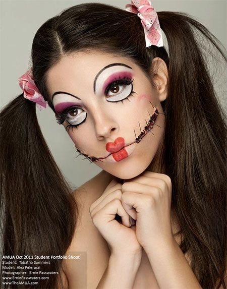 Halloween makeup can easily give you your desire look, so I am ...