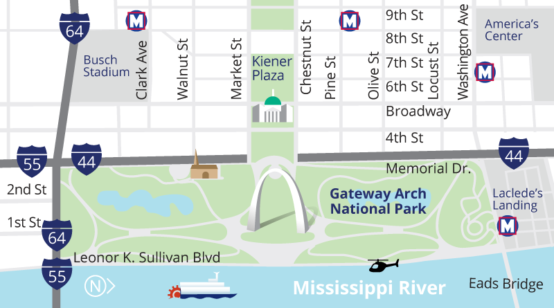 Plan Your Visit The Gateway Arch Gateway arch, Campus
