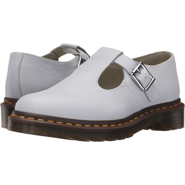 Dr. Martens Polley T-Bar Mary Jane (Blue Moon Virginia) Women s ... 91c140c5a464b