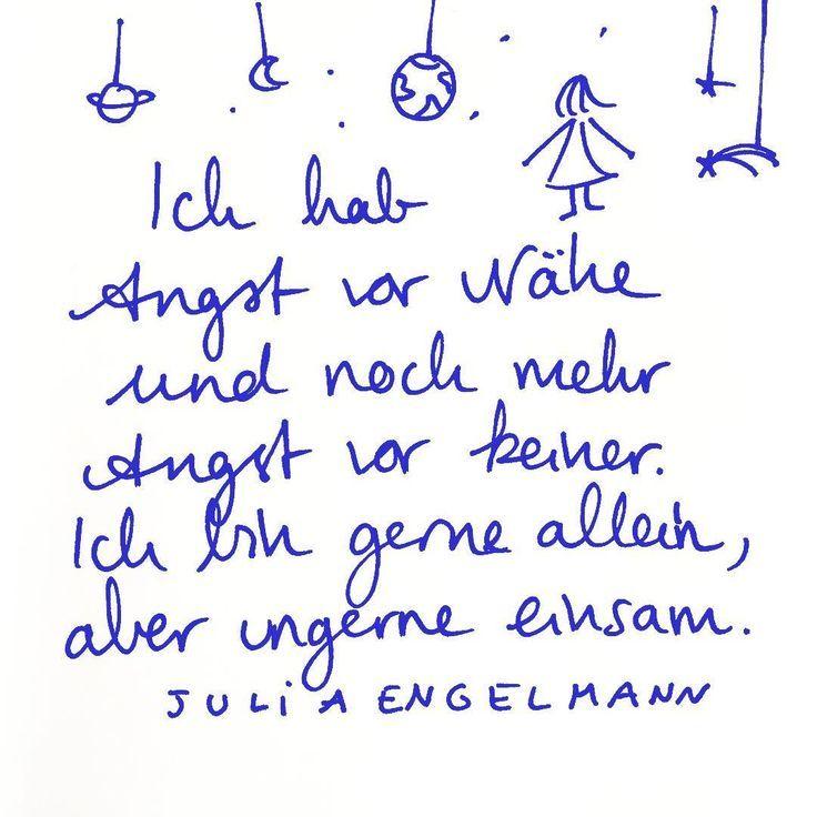 """Julia Engelmann on Instagram: """"… kein sonderlich exklusiver Gedanke, nehm ich an…. aus meinem ne"""