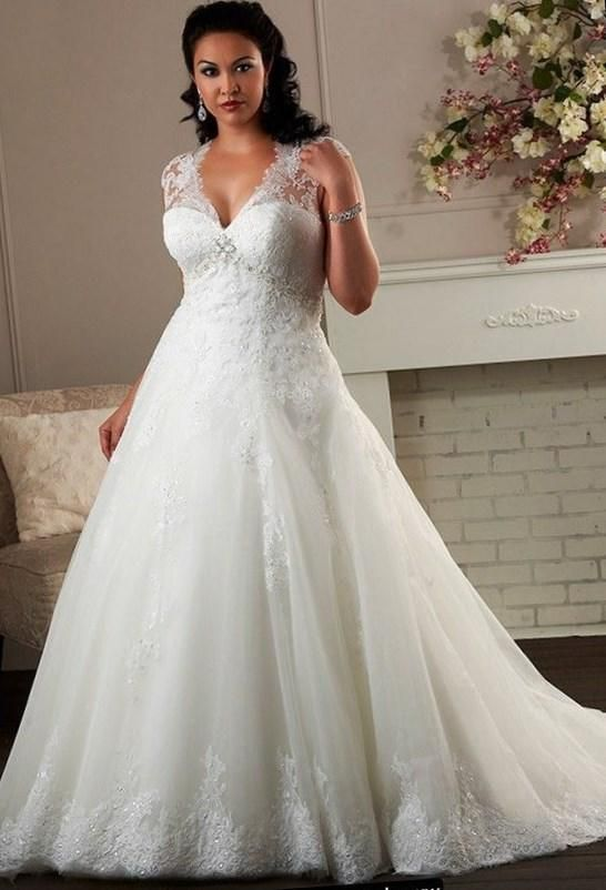 Plus Size Wedding Dresses With Sleeves 2016 2017 20