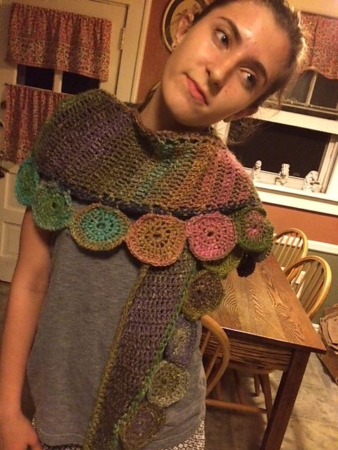 Ravelry: Pop Scarf by Esther Sandrof