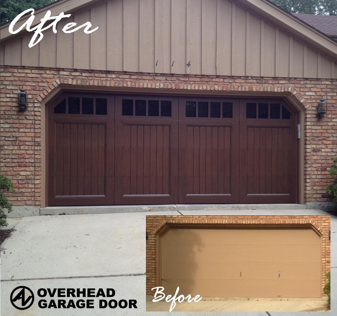 Custom Eden Coast Door We Installed Carriage House Garage Doors