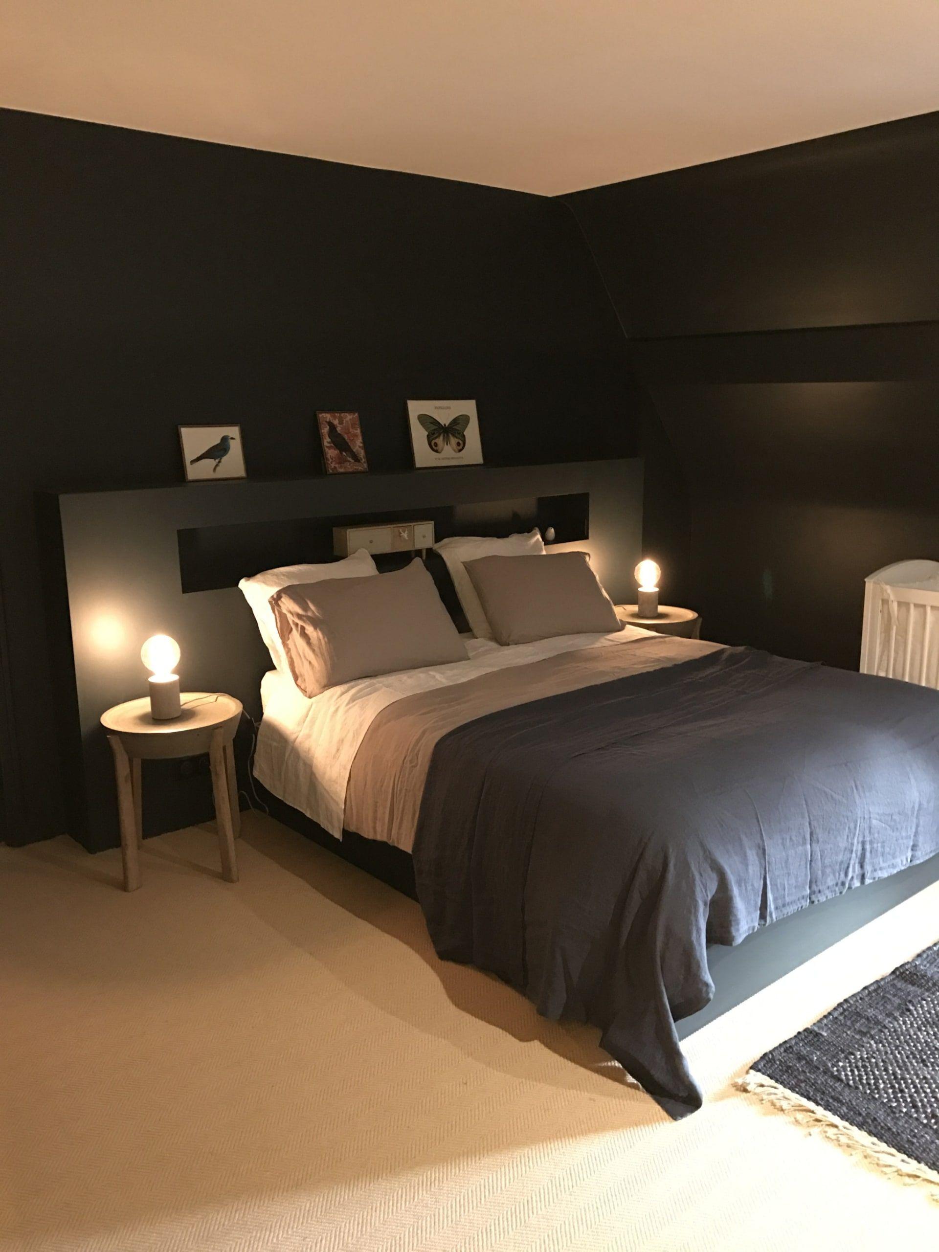 Renovation D Une Longere A Guerande Design Chambre Moderne Interieur De Chambre Extention Maison