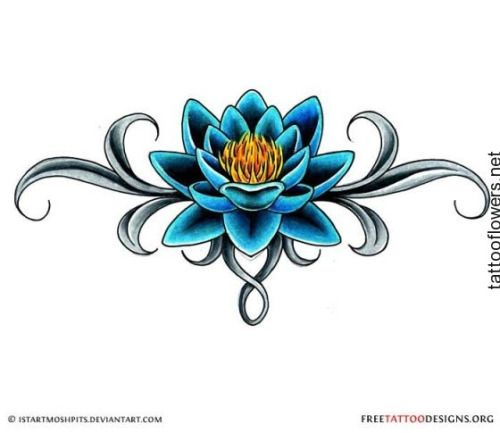 Blue lotus tattoo designs tats pinterest blue lotus blue lotus tattoo designs mightylinksfo