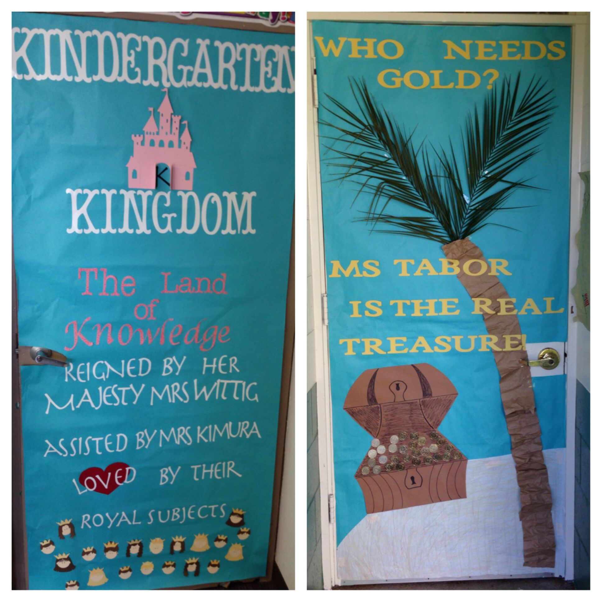 Teacher Appreciation door decorations #2