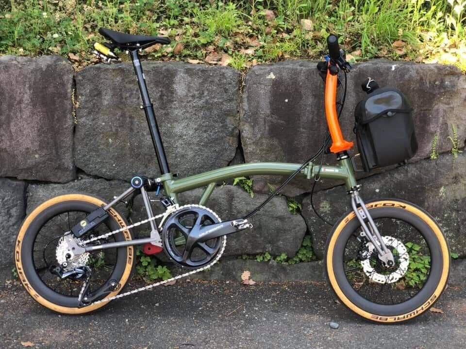 Brompton Mods Sepeda Mobil