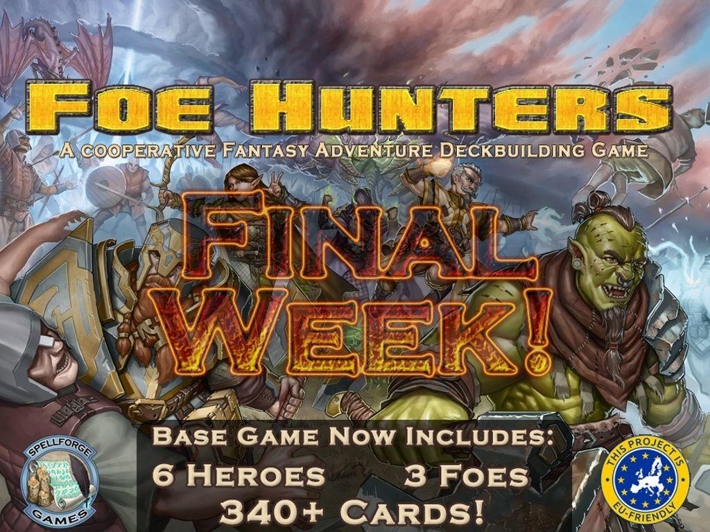 Foe Hunters A Cooperative Fantasy Deckbuilding Game