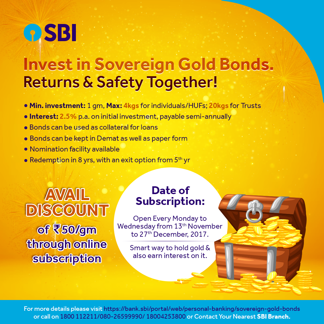 Sovereign gold bond through state bank internet banking youtube.