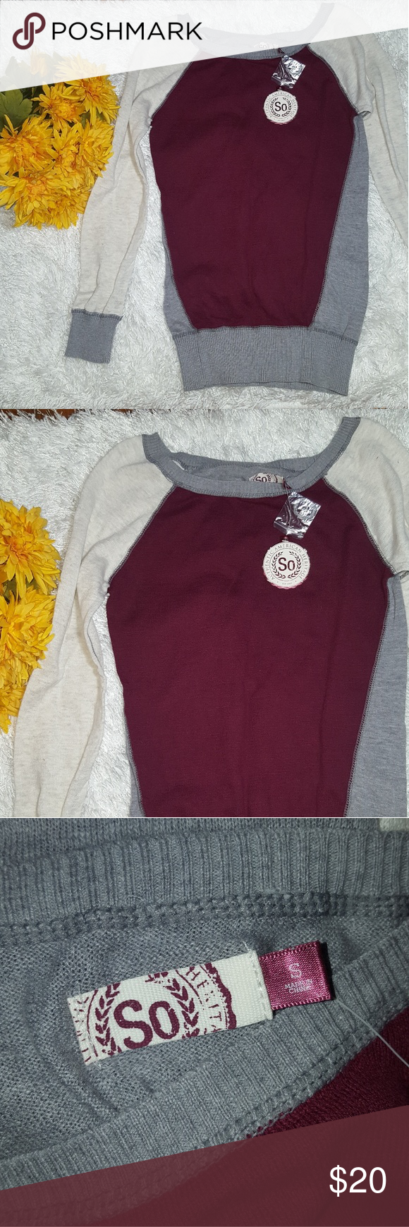 SO American Heritage Sweater NWT | Scoop neck, Customer support ...