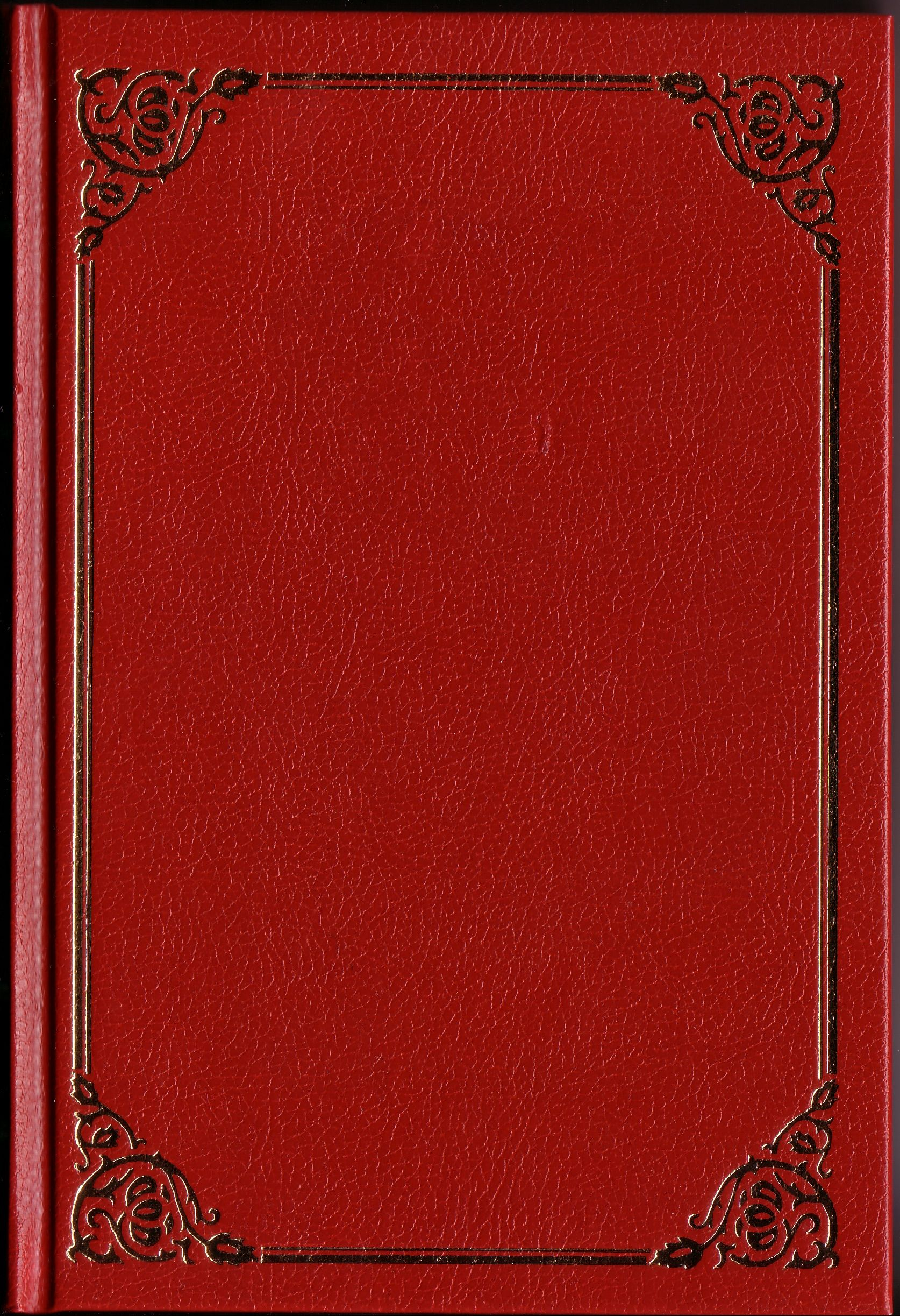 Red Book 2 Book Cover Template Book Cover Blank Book Cover