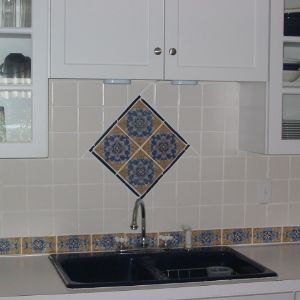 Cadiz spanish tile for a kitchen backsplash cadiz kitchen cadiz spanish tile for a kitchen backsplash ppazfo