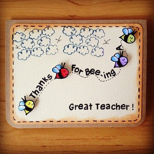 If you too haven   thought what your little ones will present to their teachers this teacher  day we bring some really easy and cool looking cards also last minute handmade ts for rh pinterest