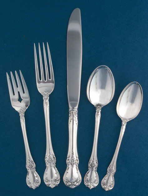 Old Master Silver Pattern From Towle