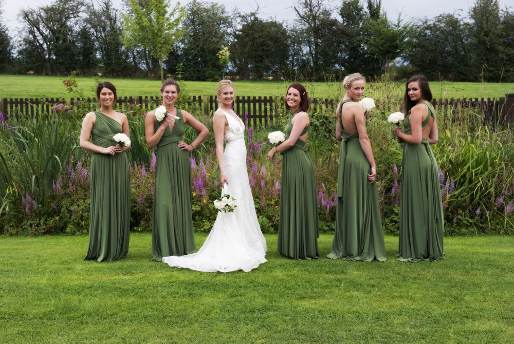 Olive Green Ballgowns Twobirds Bridesmaid Dresses A Beautiful