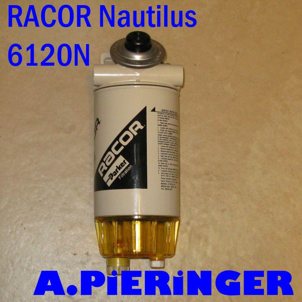 Racor 6120n Nautilus Fuel Water Separators Diesel Wasser Filter Parker Marine