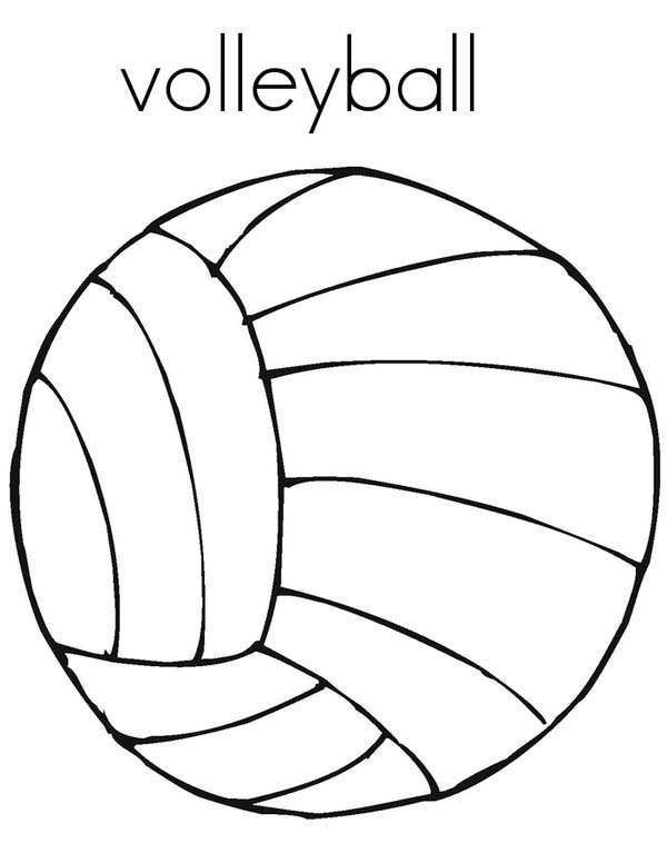 Coloring A Volleyball Picture Coloring Page Download Print Online Coloring Pages For Free Color Nimb Online Coloring Pages Online Coloring Coloring Pages