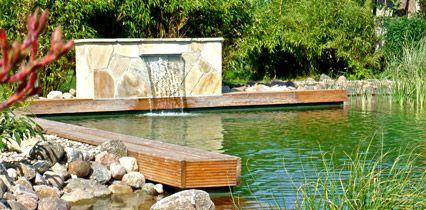 Inspirational Schwimmen im eigenen Garten