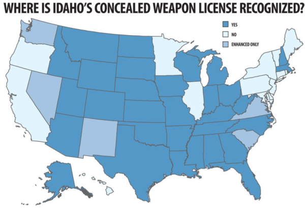Guns in RV's: Everything You Need to Know | CCW LAWS | Ccw ... Idaho Concealed Carry Reciprocity Map on idaho enhanced carry, carry permit reciprocity map, idaho non-resident ccw, idaho enhanced concealed-weapons application, idaho enhanced reciprocity cwp, florida county map, conceal weapons county map, gun law reciprocity map, idaho resources map, utah concealed carry states map, california county map, idaho legal map, idaho reciprocity law, idaho reciprocity states, nra reciprocity map, concealed carry by state map, idaho ccw reciprocity,